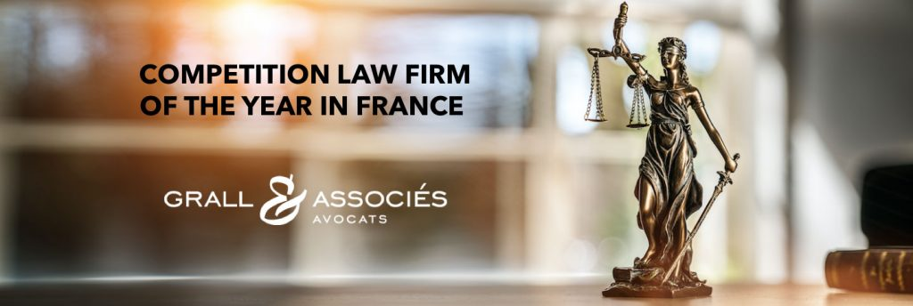 Competition law firm of the year in France
